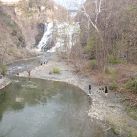 Photo taken at Ithaca Falls by Seth B. on 4/15/2012