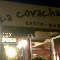 Foto tomada en LA Covacha resto-mar por Mari V. el 2/12/2012