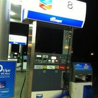 Photo taken at Chevron by Jeremy P. on 4/8/2012