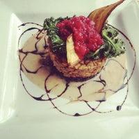 Photo taken at Leaf Vegetarian Restaurant by Grace B. on 3/7/2012