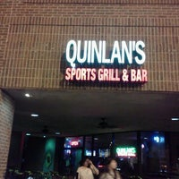 Photo taken at Quinlan's Sports Grill & Bar by Marc Gutz Grezzy A. on 4/7/2012