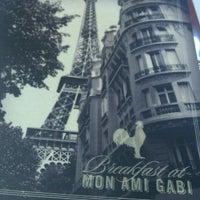Photo taken at Mon Ami Gabi by Sims K. on 8/18/2011