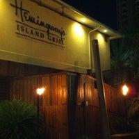 Photo taken at Hemingway's Island Grill by Karyn R. on 8/28/2011