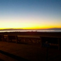 Photo taken at Capitola Beach by Morgan C. on 1/16/2012