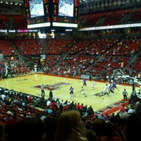 Photo taken at TTU - United Supermarkets Arena by Rodrick T. on 11/20/2011