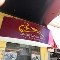 Photo taken at Bangkok Noodles by Praweenamai B. on 8/18/2012