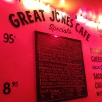 Photo taken at Great Jones Cafe by Phill H. on 8/20/2012
