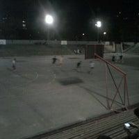 Photo taken at Teren za fudbal by Elena T. on 9/3/2012