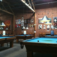 Photo taken at South First Billiards by Jahmaad W. on 5/25/2012