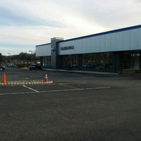 Photo taken at Subaru World of Newton by Will O. on 12/29/2011