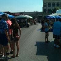 Photo taken at SMTX Saturday Farmers Market At The Square by Miguel R. on 9/3/2011