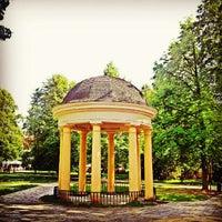Photo taken at Palackého Gardens by Miroslav R. on 6/2/2012