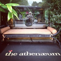 Photo taken at TheAthenaeum Hotel by Lorena R. on 8/30/2012