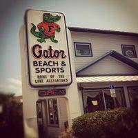 Photo taken at Gator Beach & Sport by Chris G. on 5/18/2012