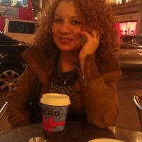 Photo taken at Caffè Nero by Ebru K. on 12/27/2011