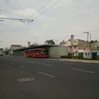 Photo taken at Metrobus Rio Mayo by Aldiux A. on 3/21/2012