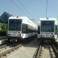 Photo taken at NJT - Liberty State Park Light Rail Station by The Official Khalis on 9/15/2011