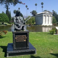 Photo taken at Hollywood Forever Cemetery by John P. on 9/3/2011