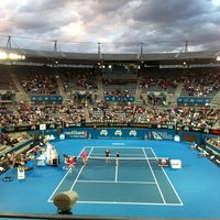 Photo Taken At Sydney Olympic Park Tennis Centre By Caue S On 1 11