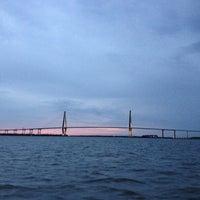 Photo taken at Charleston Harbor Resort & Marina by Marlene N. on 8/12/2012