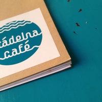 Photo taken at Prádelna Cafe by DESIGNEAST on 3/18/2012