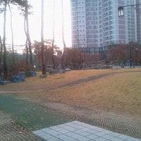Photo taken at 매봉공원 by Caroline on 11/8/2011