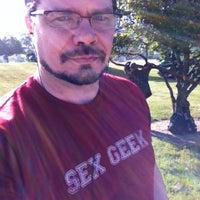 Photo taken at Megabus Stop by Gray M. on 5/23/2012