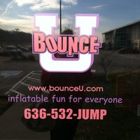 Photo taken at Bounce U by Jane H. on 2/3/2012