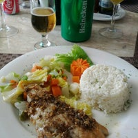 Photo taken at Restaurante Raízes by Airton M. on 8/10/2012