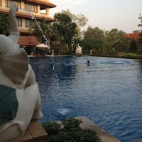 Photo taken at Imperial River House Resort Chiangrai by BM B. on 4/23/2012