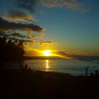 Photo taken at Ke'e Beach by Michelle R. on 10/29/2011