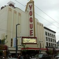 Photo taken at Vogue Theatre by Yosuke S. on 7/21/2011