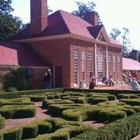 Photo taken at George Washington's Mount Vernon by Chamila U. on 10/8/2011