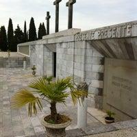 Photo taken at Sacrario militare di Redipuglia by Arturo C. on 12/9/2011