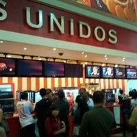 Photo taken at Cines Unidos by Iván de Jesus Y. on 2/6/2012