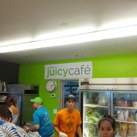 Photo taken at The Juicy Café by Stephen F. on 9/2/2012