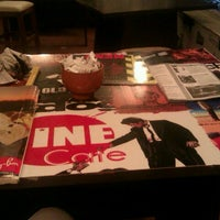 Photo taken at Cine Cafe by Seher K. on 9/12/2012