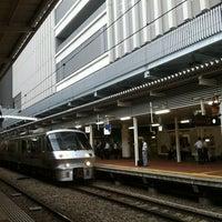Photo taken at Platforms 3-4 by Hideyuki S. on 8/16/2011