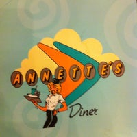 Photo taken at Annette's Diner by Jonathan.b on 1/12/2012