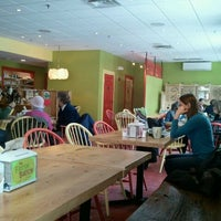 Photo taken at The Fresh Batch Cafe & Gelato by Claire A. on 1/22/2012