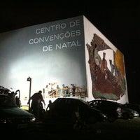 Photo taken at Centro de Convenções de Natal by Valéria C. on 1/1/2012
