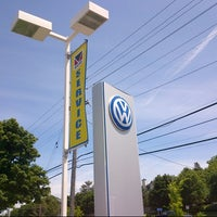 Photo taken at Myers Volkswagen by Jeff H. on 6/16/2012