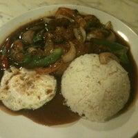 Photo taken at Gyuniku Restaurant by blurdevil on 2/8/2011