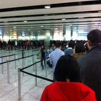 Photo taken at Security/Passport Control - T3 by Samuel P. on 1/6/2012