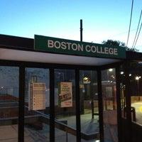 ... Photo taken at MBTA Boston College Station by JM H. on 4/24/