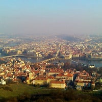 Photo taken at Petřín Lookout Tower by Alex O. on 11/29/2011