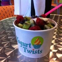 Photo taken at Yogurt Twists by Ryan F. on 7/3/2011