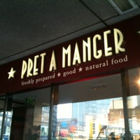 Photo taken at Pret A Manger by Rodrigo N. on 3/29/2012