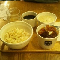 Photo taken at Soup Stock Tokyo 京急品川店 by nissy T. on 10/8/2011