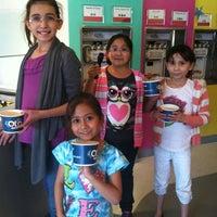 Photo taken at Olo Yogurt Studio by Claudia M. on 3/9/2012